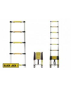 Escalera telescópica de aluminio 3,8 metros Black Jack
