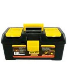 """Caja de herramientas plástica BLACK JACK 423 x 185 x 215 mm bandeja y gaveteros 16,5"""""""