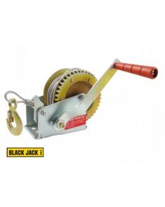Malacate náutico BLACK JACK 1000 lb 450 kg cable de acero reforzado 8 mm